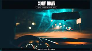 Angry Rap Instrumental - Hard Sick Hip Hop Beat Aggressive - Slow Down (prod. MotaBeatz)