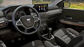 2021 Dacia Sandero and Stepway - INTERIOR