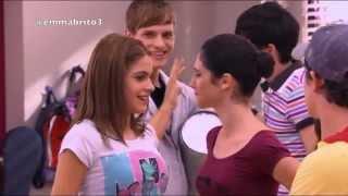 Violetta 1 - Violetta les dice que se beso con León (01x35)
