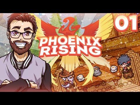 MOST BEAUTIFUL FAN GAME?! Phoenix Rising Part01 w/ ShadyPenguinn