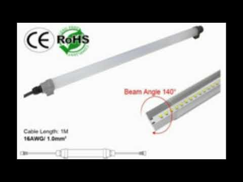 Video review of Waterproof Dimmable T8 LED Tube Full
