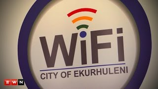 Ekurhuleni Mayor Mondli Gungubele launched the first steps towards achieving the ideal of a Digital City by giving free WIFI to residents of the municipality