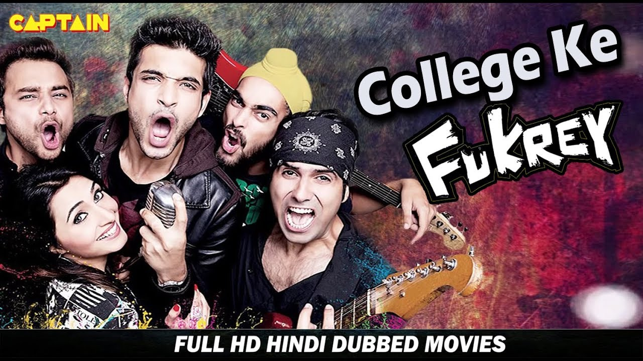College Ke Fukrey - New Hindi Dubbed Movie - Karan Kundra, Manjot Singh, Nav Bajwa