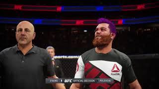 EA SPORTS™ UFC® 2 Carreira #3