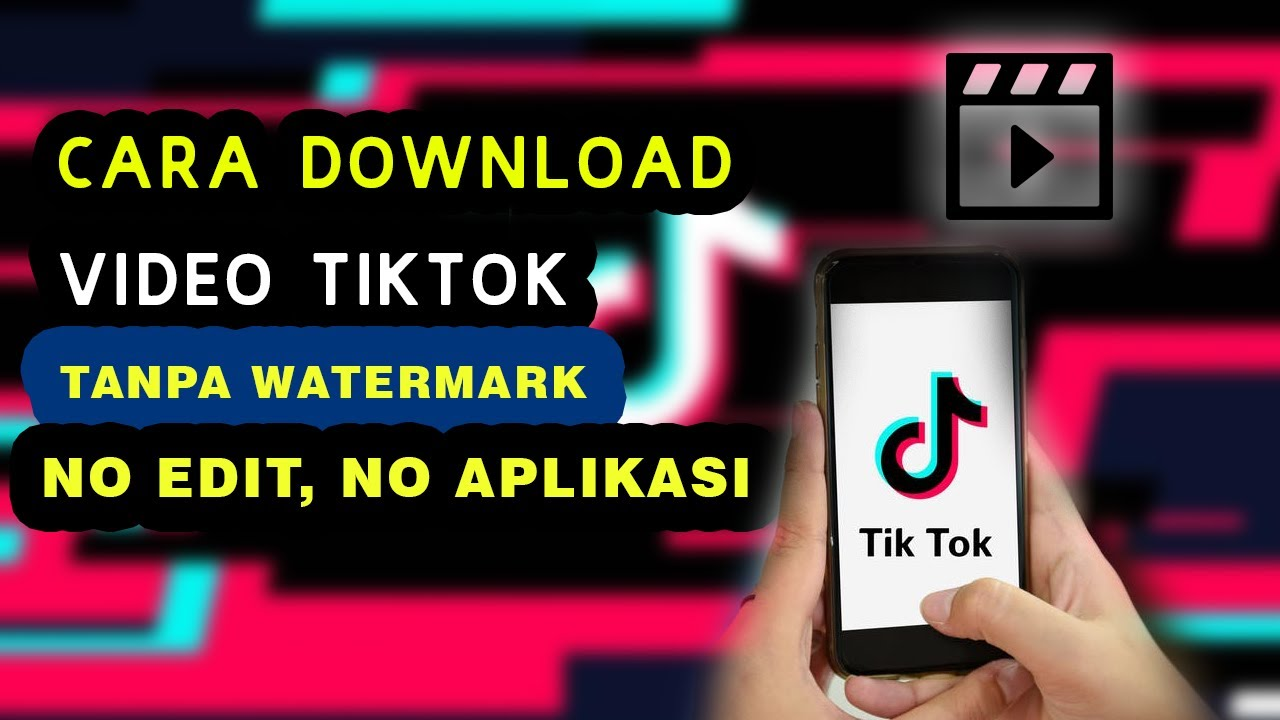 Cara Save Video Tiktok Tanpa Watermark Youtube