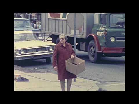 Allentown Pa Street Scene 1975 4th And Allen St