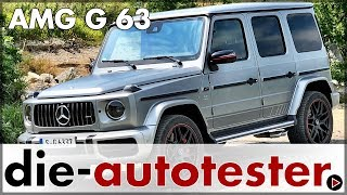 Mercedes G-Klasse 2018 - Mercedes-AMG G 63 Test & Fahrbericht | Review | Deutsch | 2019