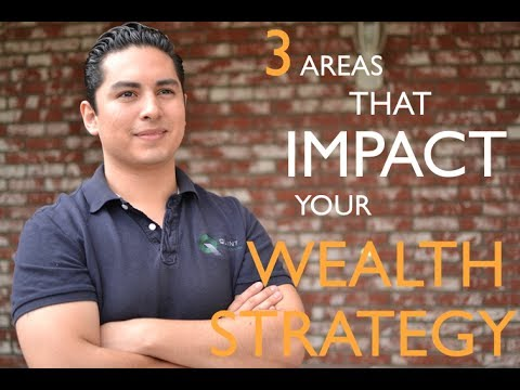 Wealth Strategies - 3 Areas you Must Not Ignore!