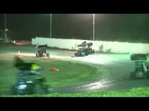 Cora Speedway 600 micro sprint main 4/7/12
