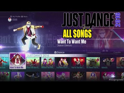 Download video just dance 2016 all songs full All songs hd video 2016