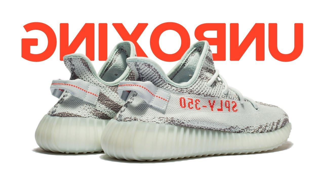 Unboxing ? ????? ????? ????????? adidas Yeezy Boost 350 V2