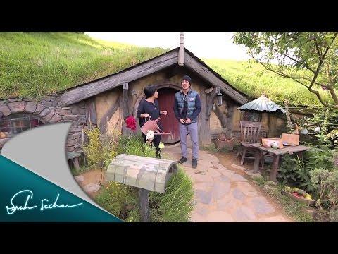 Sarah Sechan goes to New Zealand - Hobbiton