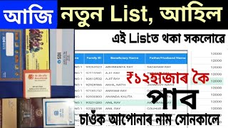 আজিৰ খবৰ চাই লওঁক new sbi money subsidy house list, how to check