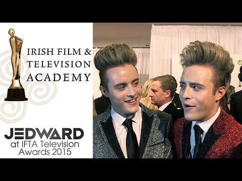 Jedward at IFTA Television Awards 2015