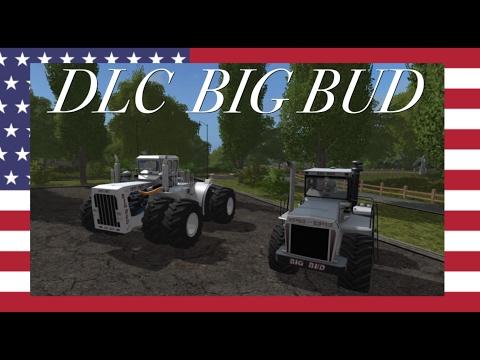 Farming simulator 17 ps4    DLC BIG BUD