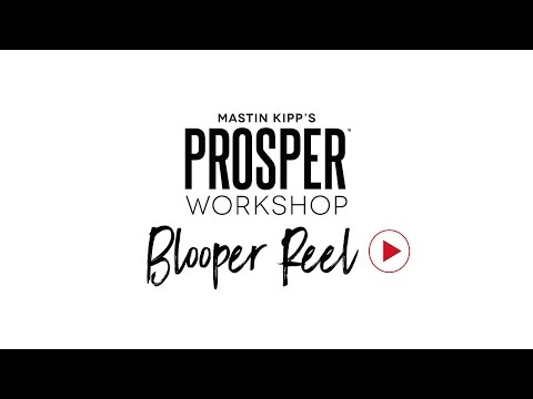 Prosper Blooper Reel & The Cure For Perfectionism
