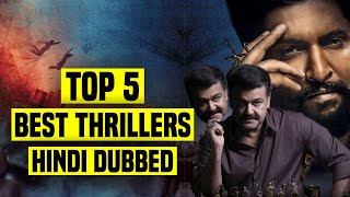 Top 5 Best South Indian Thriller Movies In Hindi Dubbed