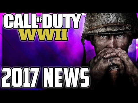 NEW Call of Duty World War 2 Multiplayer/Zombies/Campaign NEWS! COD 2017