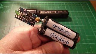 ESP8266 Hack #1: Web Enabled LED - WiFi Internet-of-Things IoT