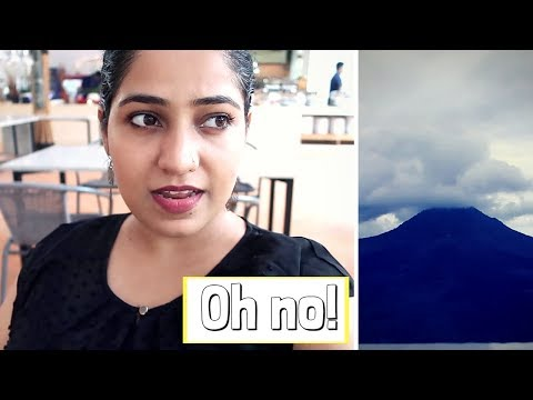 AGUNG VOLCANO ERUPTED! Getting Stuck in Bali and BALI ZOO | 2017