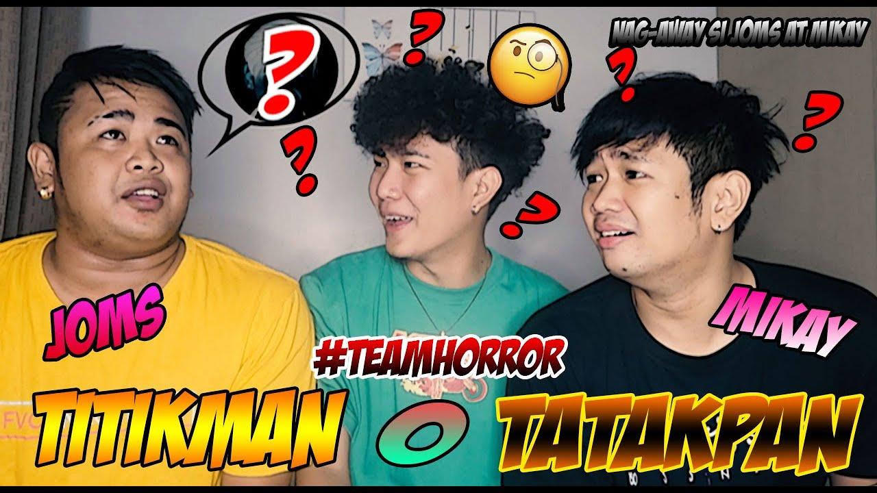 TITIKMAN O TATAKPAN WITH TEAMHORROR (SOBRANG LAUGHTRIP NETO!!!) | JOSHUA AGATEP