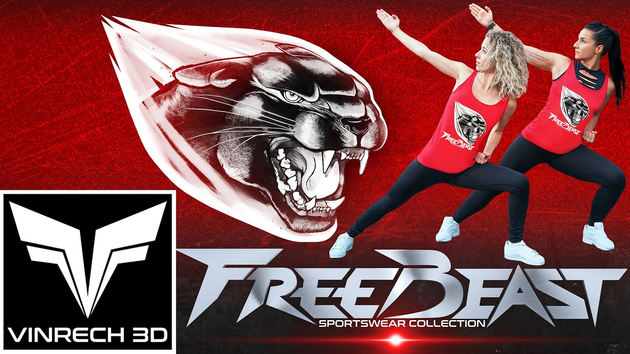 VINRECH CLOTHING - FREEBEAST Sportswear - Panther & Body Art Martial