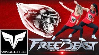 VINRECH CLOTHING - FREEBEAST Sportswear - Panther & BAM - VINRECH PRODUCTION