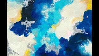 Cómo empezar una pintura Abstracta