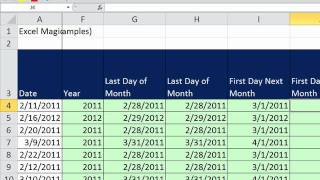 Extending Formulas in Excel