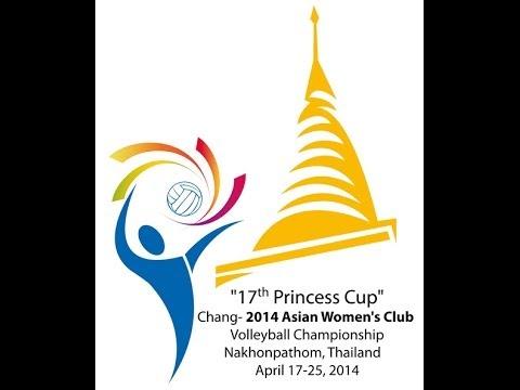 Martin Varamin (IRI) & Hisamitsu Springs (JPN)  [2014 ASIAN WOMEN'S CLUB VOLLEYBALL CHAMPIONSHIP]