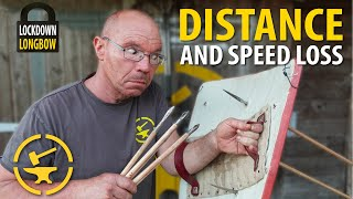 Shields; Distance and speed loss