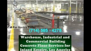 Los Angeles Commercial Concrete Floors