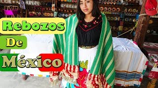 ASÍ HACEN LOS REBOZOS PURÉPECHAS ARTESANALES EN MÉXICO