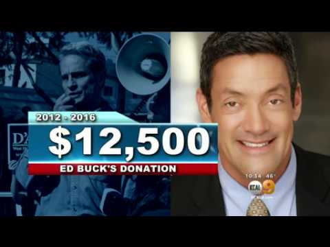 CBS 2 - Following The Money An In Depth Look At Ed Buck's Political Donations