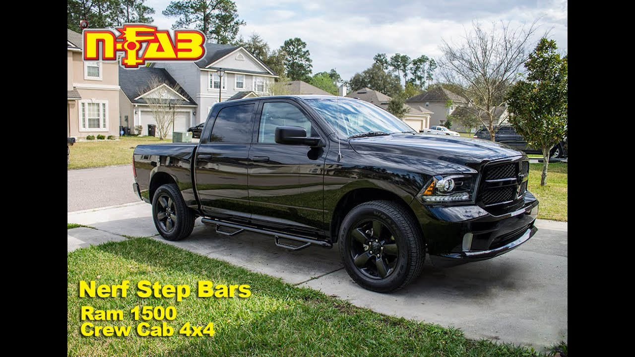 N Fab Installation Ram 1500 Crew Cab Youtube