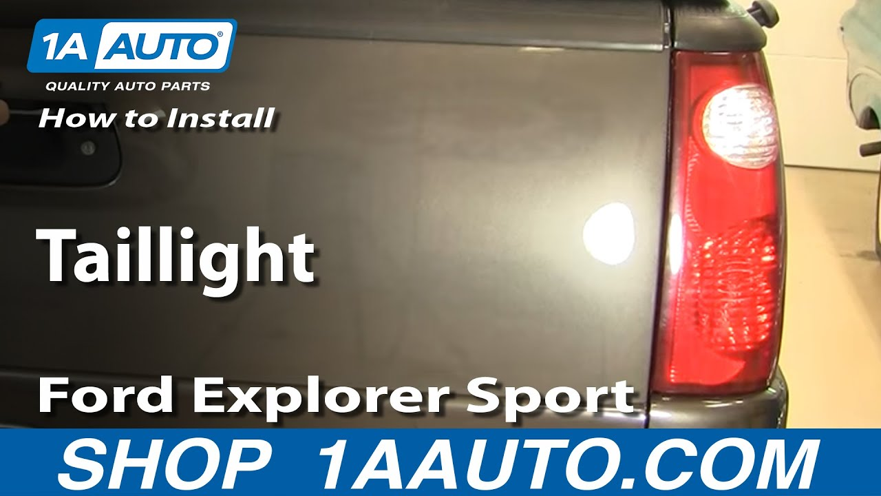Ford Truck Tail Light Wiring