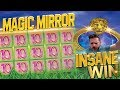 MAGIC MIRROR DELUXE SLOT PAYS A MASSIVE WIN!