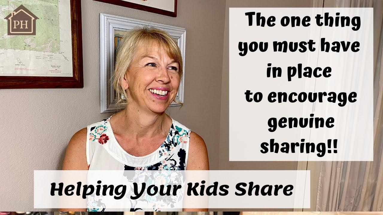 Helping Kids Share