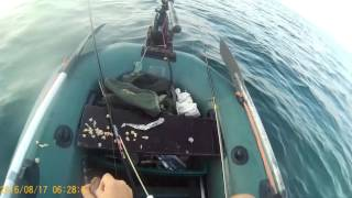 Рыбалка на Чёрном море с лодки 17.08.2016(Видео-отчёт о рыбалке на море с лодки возле г. Южный., 2016-08-21T09:01:16.000Z)