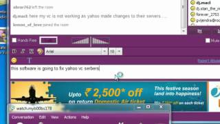 yahoo vc problem with yahoo messenger solution