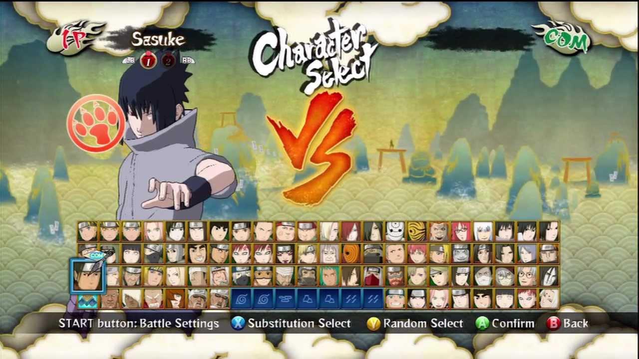 Naruto Shippuden Ultimate Ninja Storm 3 - Sasuke Eternal ...
