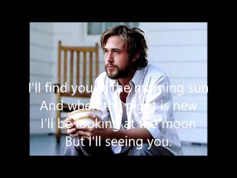 I'LL BE SEEING YOU (with lyrics) Jimmy Durante  The Notebook