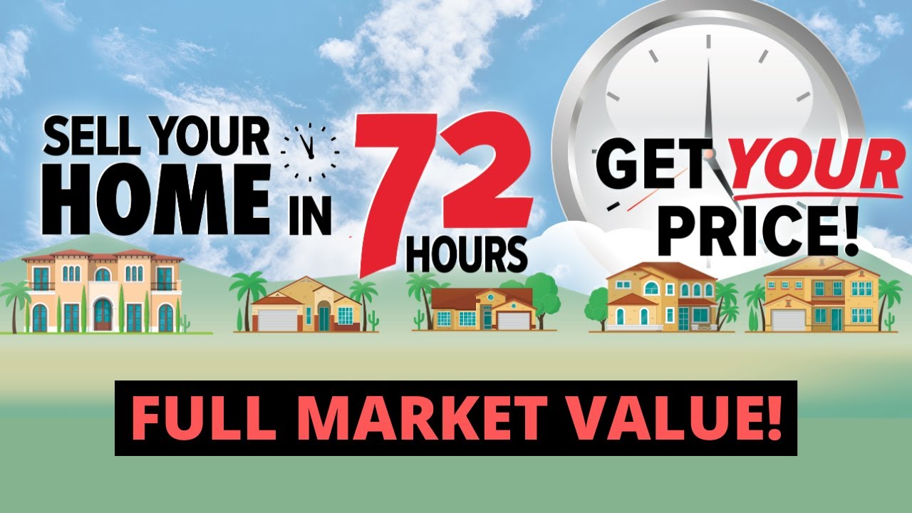 Sell Your Home in 72 Hours - Full Market Value - The Palmer Team 72 Sold