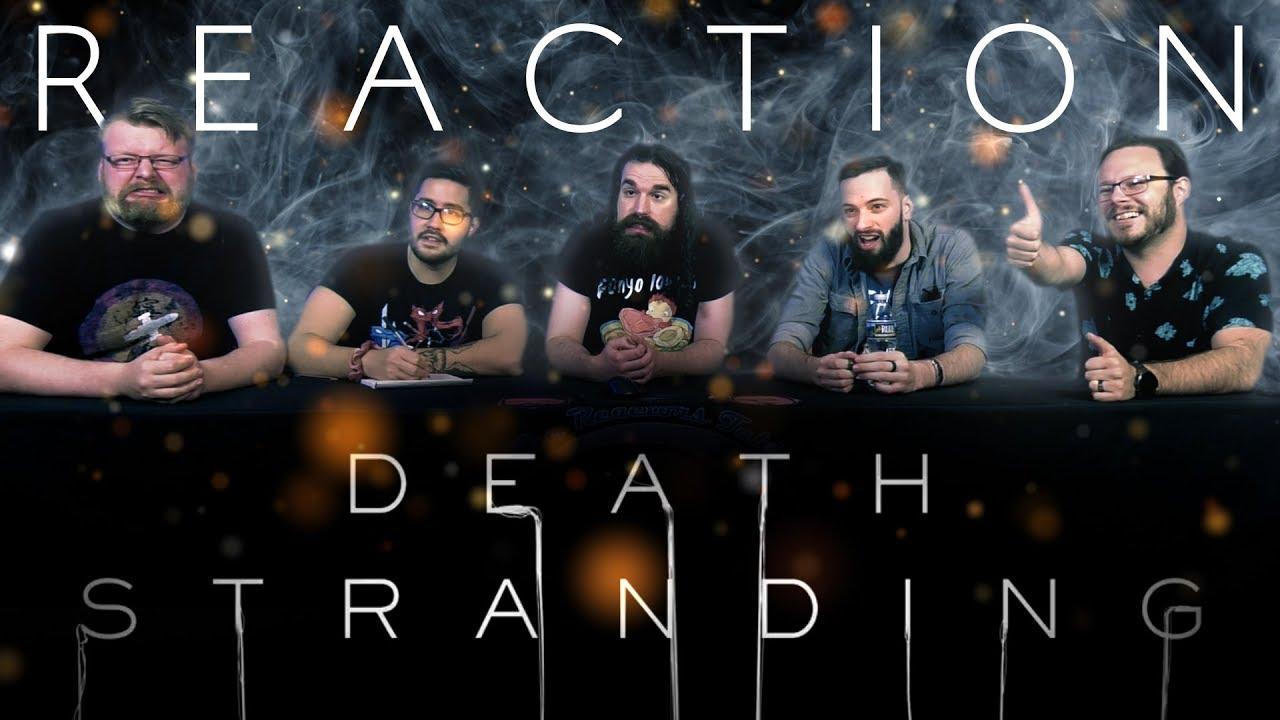 Death Stranding Official Release Date Trailer REACTION!! thumbnail
