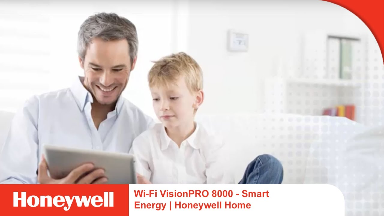 Wi-Fi VisionPRO 8000 Thermostat - Smart Energy | Honeywell Home