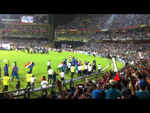 Memorable Moments ICC WC 2011 India Win (HD)