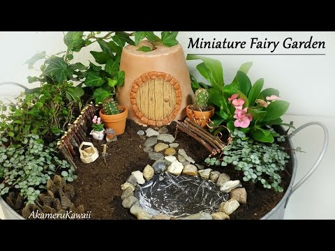 The use of plastic bottles for production of fairy houses ...