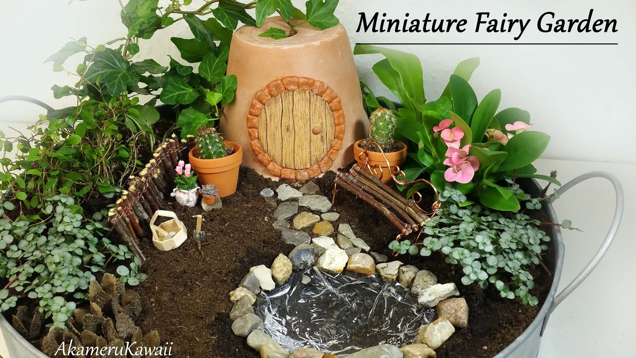 youtube premium - Fairy Garden Miniatures
