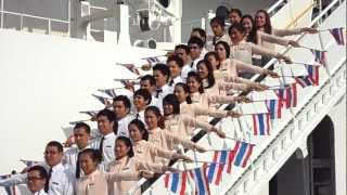 Flag cheer Thailand Contingent at SSEAYP 2012