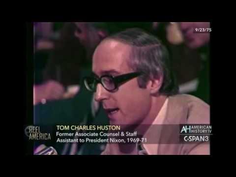 Church Committee Hearings Domestic Surveillance - 1975